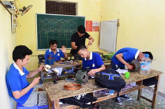 dạy nghề điện dân dụng tại dạy nghề thanh xuân