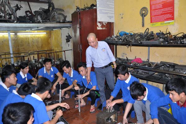 Dạy nghề sửa chữa Xe Máy uy tín - chất lượng tại Hà Nội